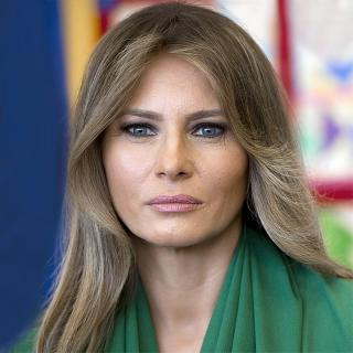[Image of Melania Trump]