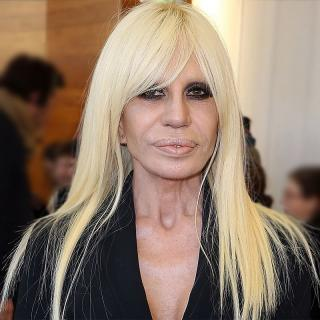 [Image of Donatella Versace]