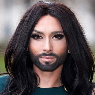 [Image of Conchita Wurst]