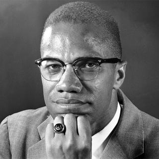 [Image of Malcolm X]
