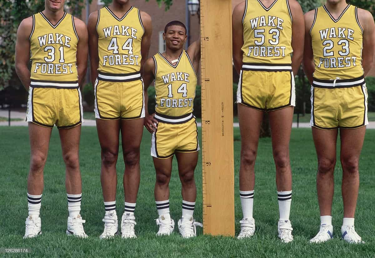 Muggsy Bogues on Height Chart
